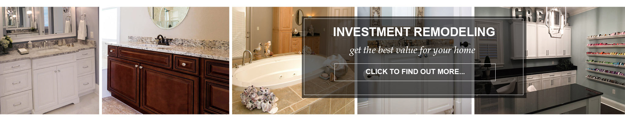 investment remodeling baths closets kitchens tallahassee